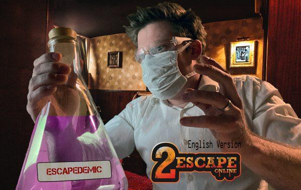 product Escapedemic English online escape room